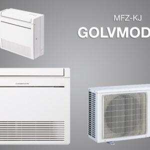 Mitsubishi MFZ-KJ GOLVMODELL